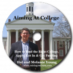 Aiming at College CD Art with Shadow