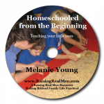 Homeschooled from the Beginning CD Art with Shadow