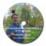 Homeschooling High School CD Art with Shadow