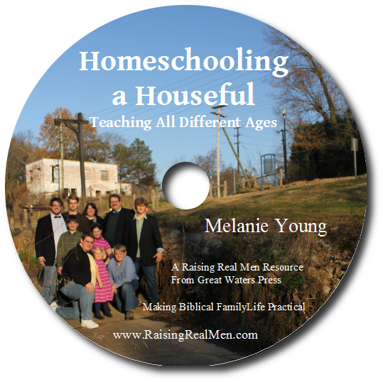 Homeschooling a Houseful CD Art with Shadow
