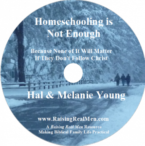 Homeschooling is Not Enough CD Art