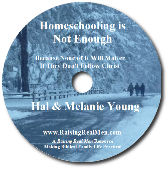 Homeschooling is Not Enough CD Art with Shadow