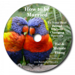 How to Be Married to Your Best Friend CD Art with Shadow
