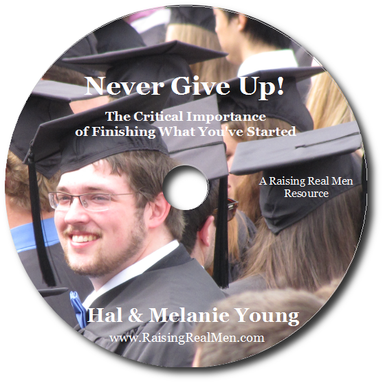 Never Give Up CD Art with Shadow