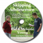 Skipping Adolescence CD Art