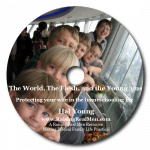 The World The Flesh and the Younguns CD Art with Shadow
