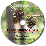 Three Simple Goals CD Art with Shadow