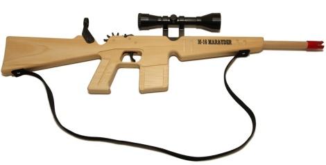 Wooden Rubber Band Gun Plans