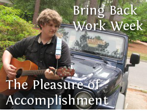 RRM Bring Back Work Week The Pleasure of Accomplishment
