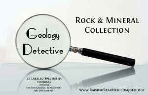 Geology Detective 40 Rock Mineral