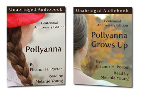 Pollyanna and Pollyanna Grows Up Front Covers