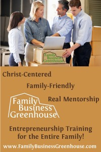 Family Business Greenhouse Pinnable