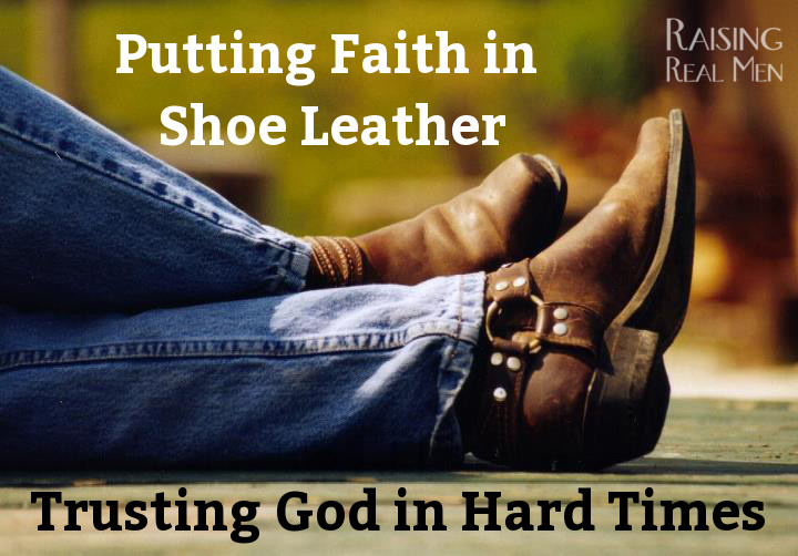 RRM Putting Faith in Shoe Leather