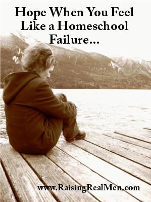 Hope When You Feel Like a Homeschool Failure