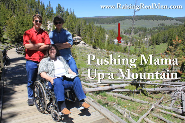 Pushing Mama Up a Mountain