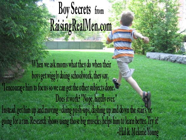 Boy Secrets Get Him Moving