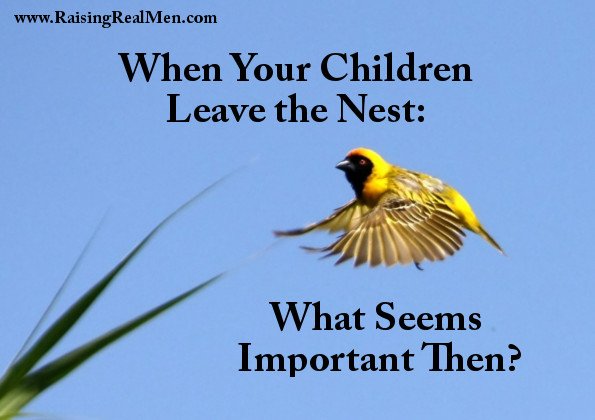 When Your Children Leave the Nest
