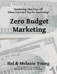 Zero Budget Marketing Cover