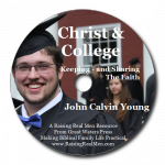 Christ and College John CD Art with Shadow