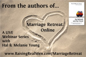 Marriage Retreat Online Sand Heart with RRM URL