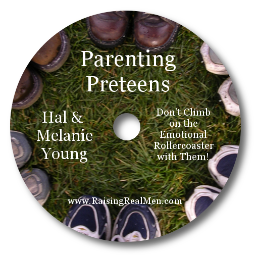 Parenting Preteens CD Art with Shadow