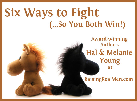 Fight So You Both Win Pin