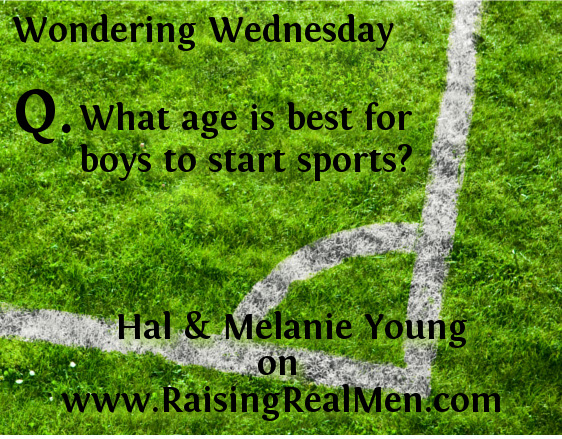 Q What age is best to start sports