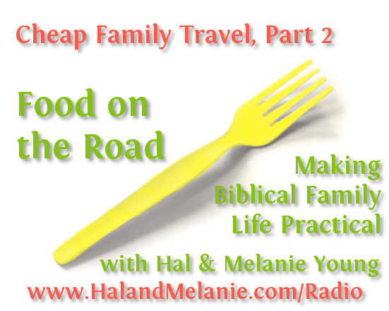 MBFLP - Cheap Family Travel Part 2 Food on the Road
