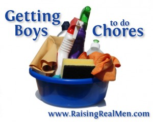Getting Boys to do Chores