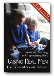 Raising Real Men - Cover with Shadow