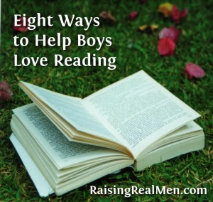 Helping Boys Love Reading