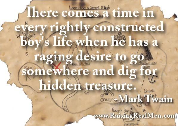 Mark Twain What Boys Are Like Treasure Hunting