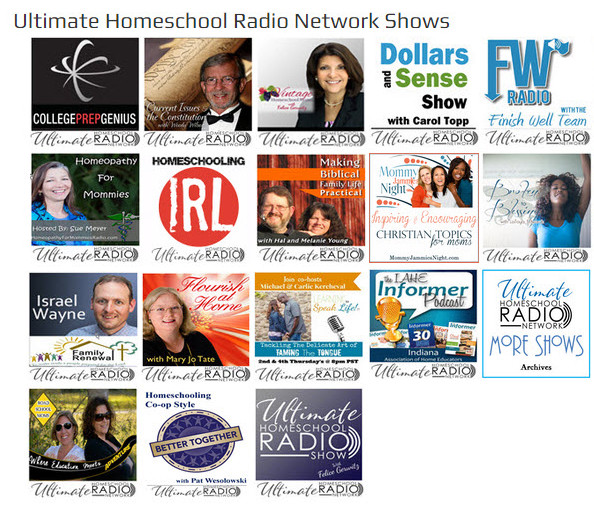 Ultimate Homeschool Radio Network Hosts Smaller
