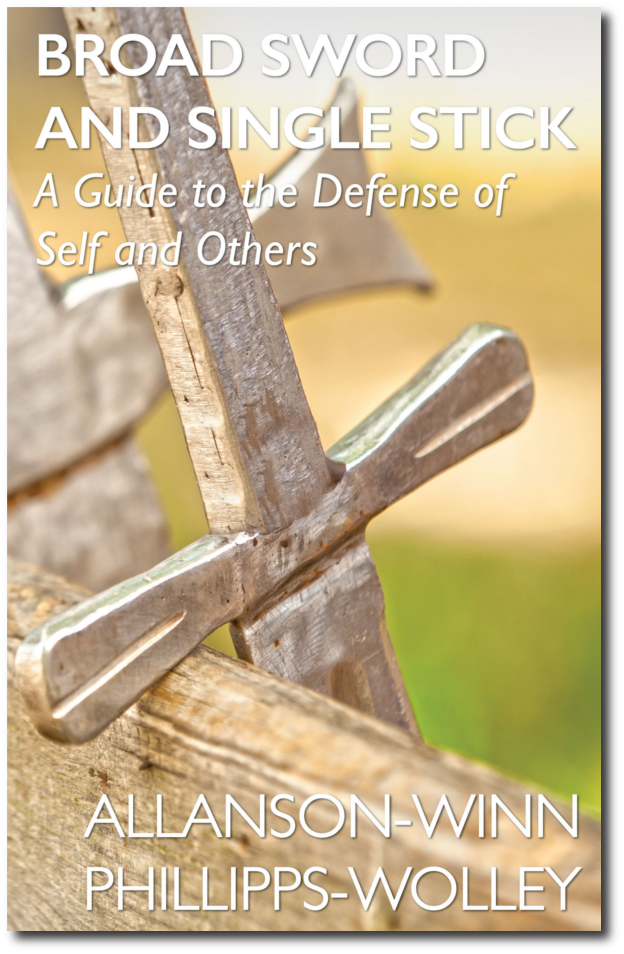 Broad Sword and Single Stick Self Defense Manual Front Cover Web