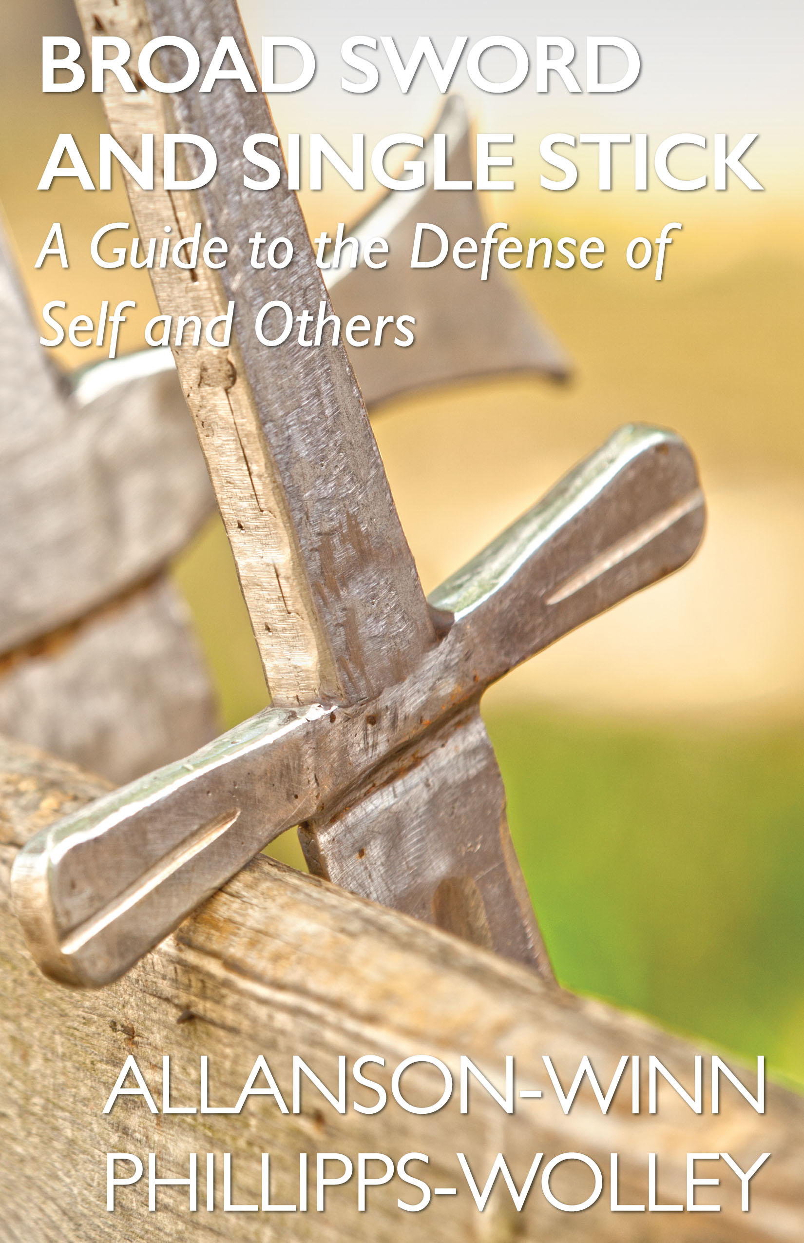 Broad Sword and Single Stick Self Defense Manual Front Cover