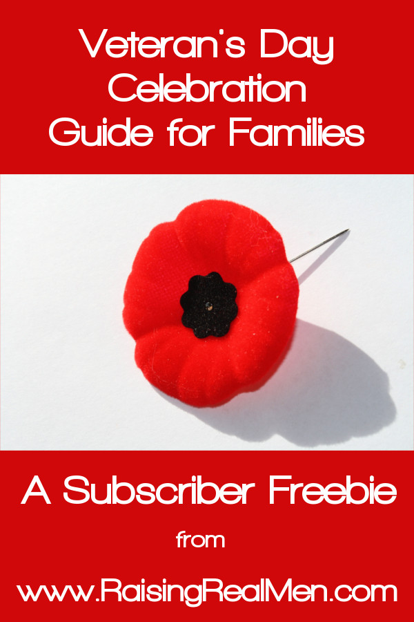 Veterans Day Celebration Guide Pinnable