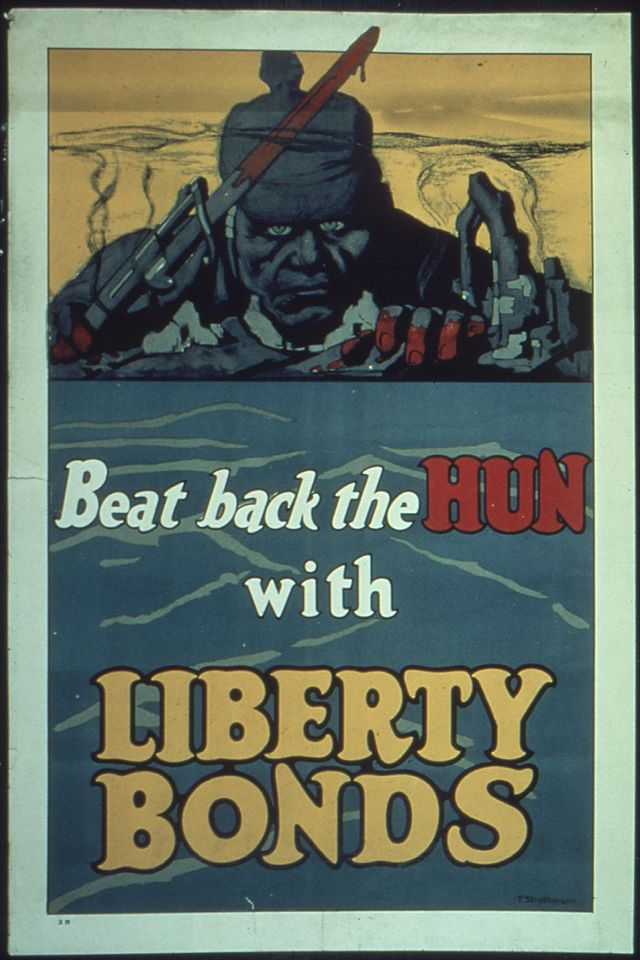 WWI Beat Back the Hun with Liberty Bonds