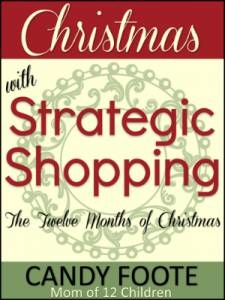 Candy Foote Christmas with Strategic Shopping