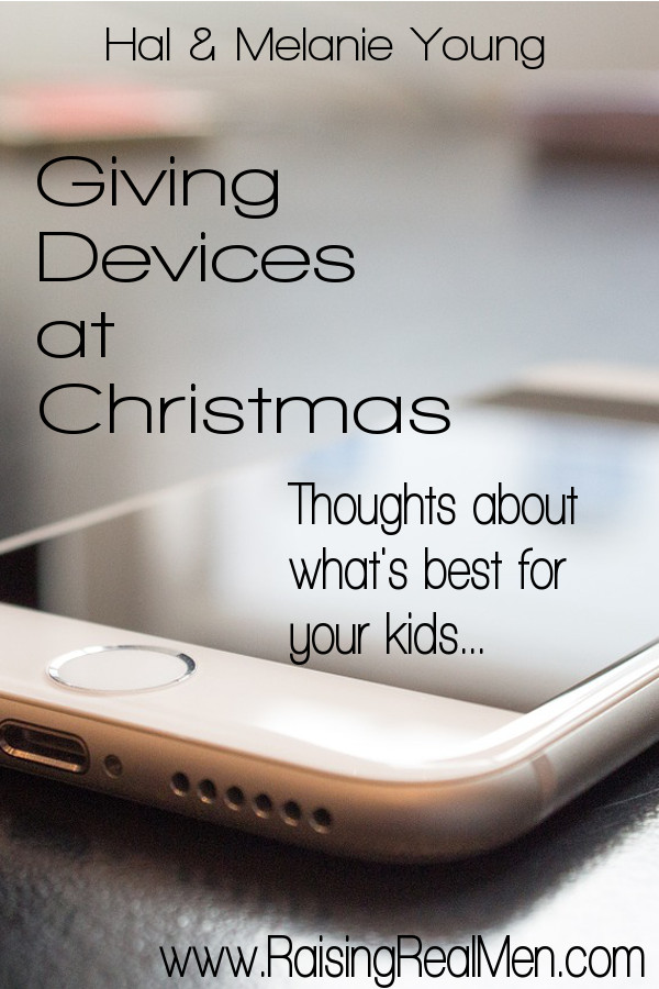 RRM Giving Devices at Christmas What's Best for Kids