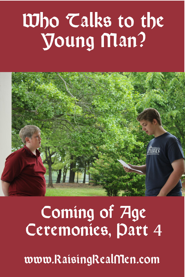 Coming of Age Ceremonies Part 4 Who Talks Vert