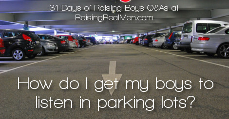 RRM Parking Lot Obedience