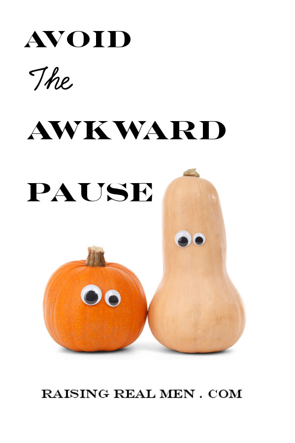 Blog - Avoid The Awkward Pause -V