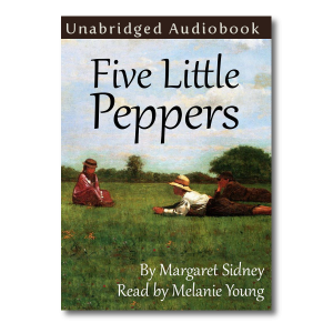 Five Little Peppers Front Cover with Shadow