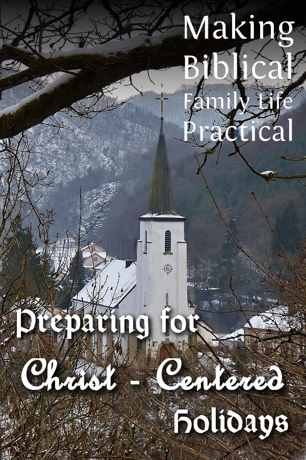 MBFLP - Preparing Christ Centered Holidays - V