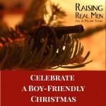 Celebrate a Boy-Friendly Christmas Large Print