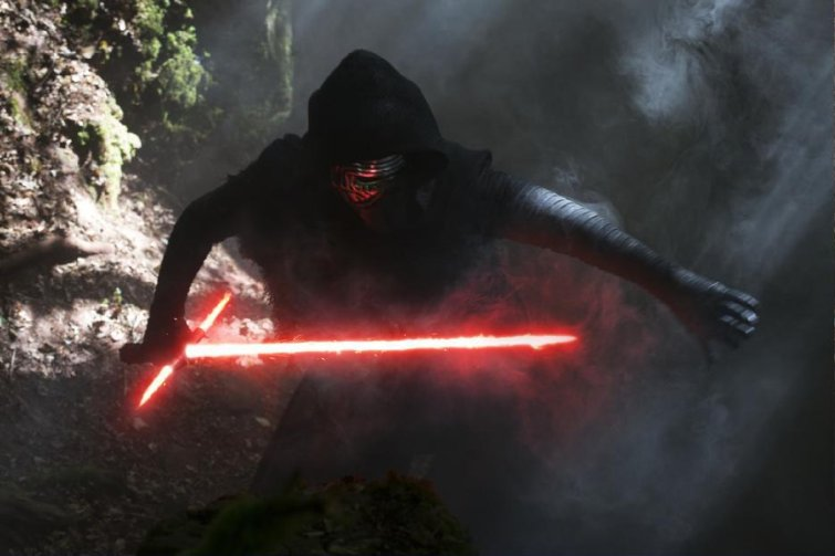 Star Wars Kylo Ren and Light Saber