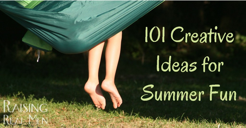 101 Creative Ideas for Summer Fun