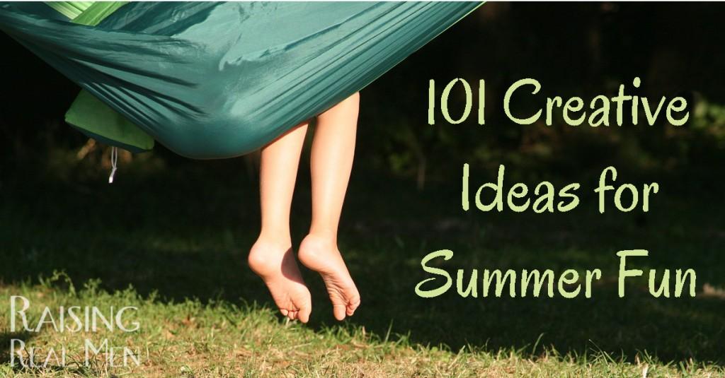 101 Creative Ideas for Summer Fun