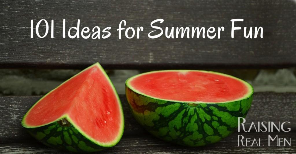 101 Ideas for Summer Fun