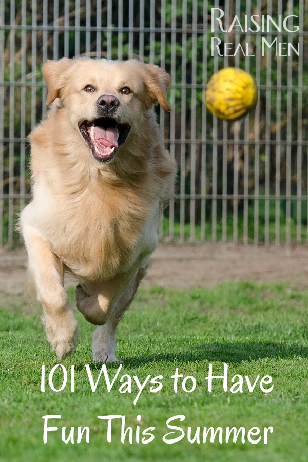 101 Ways to Have Fun This Summer
